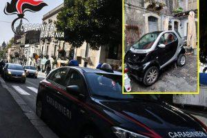 Catania, sorpreso mentre monta i cerchi rubati sulla propria auto: 34enne denunciato