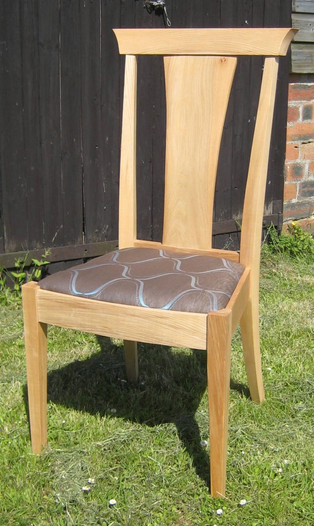 Elm and ash chair