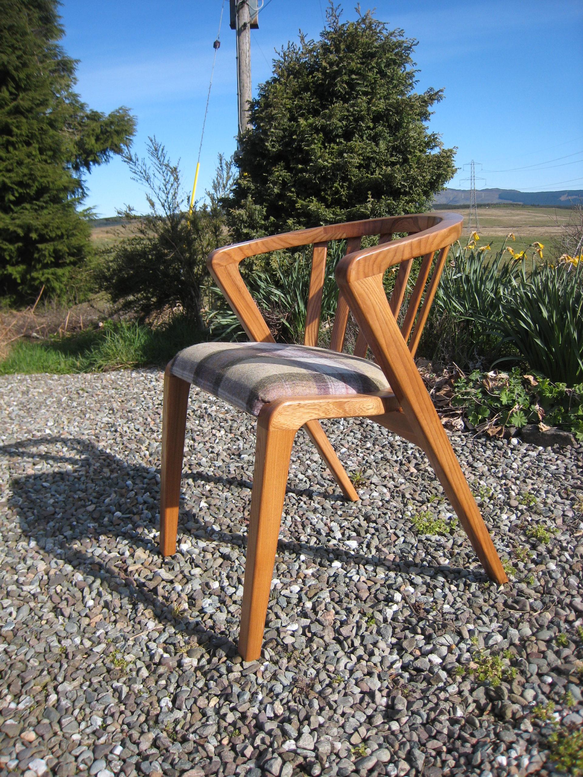 Elm chair
