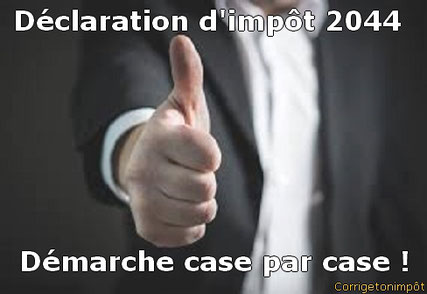 La Déclaration Des Revenus Fonciers 2044 Démarche En Ligne Case
