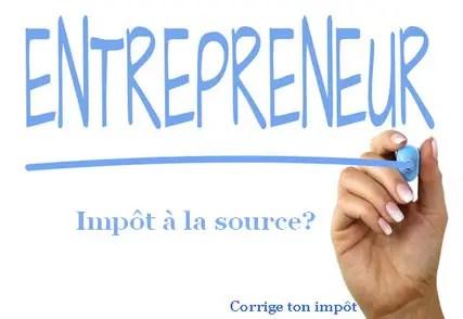 Auto Entrepreneur Et Impot A La Source Qu Est Ce Qui Change Pour