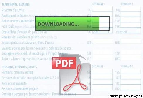 Telecharger Le Formulaire H1 Au Format Pdf Vierge Corrige Ton Impot