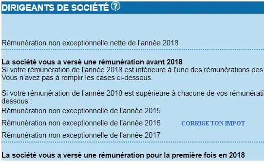 Declaration D Impot 2019 Pour Les Dirigeants De Societe Comment