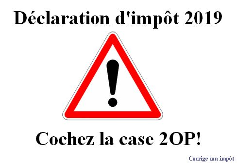 impot forfaitaire annuel 2020