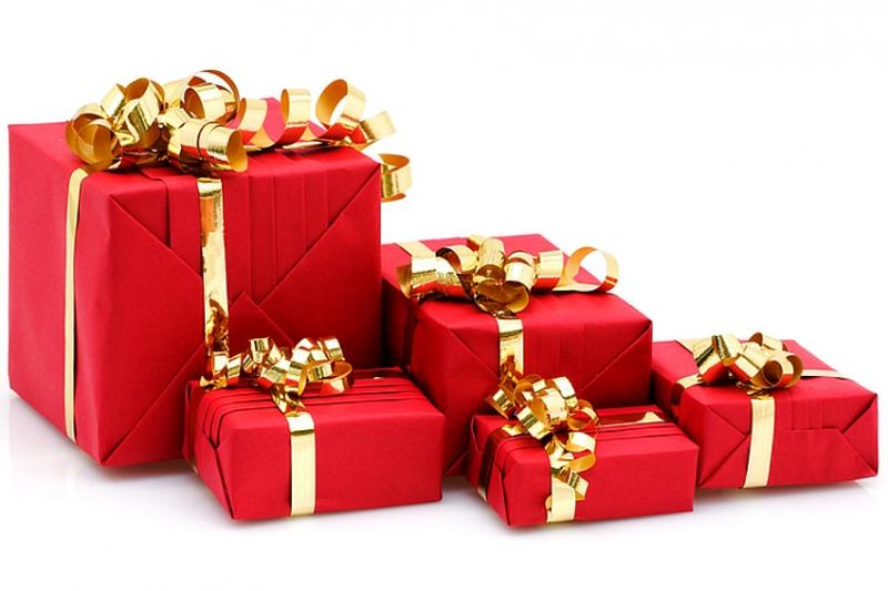 Opration Emballage Des Paquets Cadeaux Avec Le Rotary