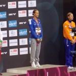 Berlino 2014 - Pellegrini sul podio