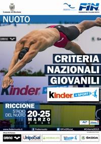 Criteria 2015: va in onda il nuoto giovanile