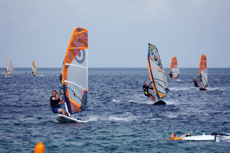 Windsurfen Porto Pollo