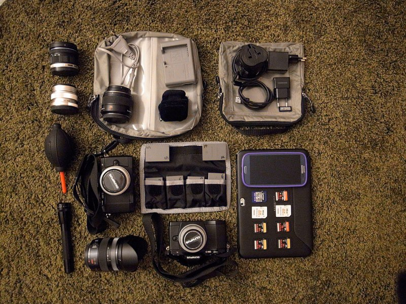 Vittore Buzzi photo gear