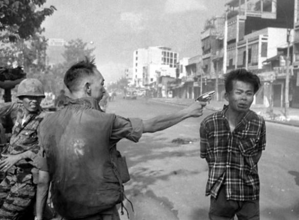 General Nguyen Ngoc Loan executing a Viet Cong prisoner in Saigon