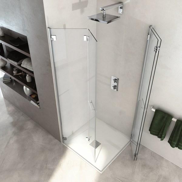 arredare bagno quadrato e piccolo box doccia