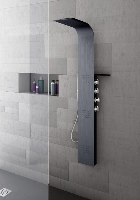 arredare bagno quadrato e piccolo doccia