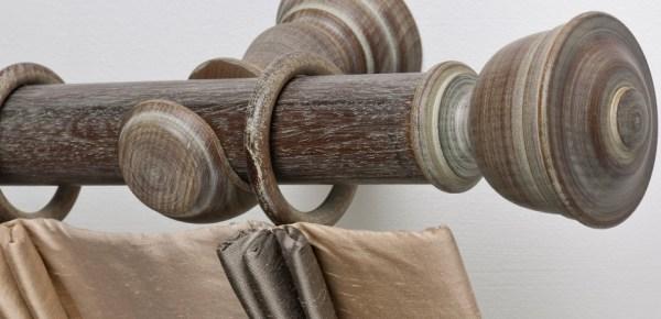 bastoni tende classici in legno