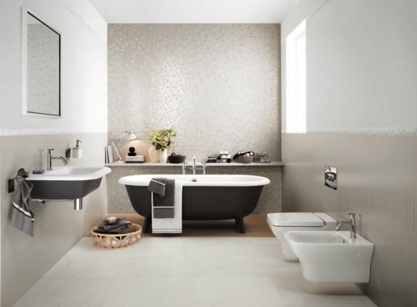 arredare bagno rettangolare in modo minimalista