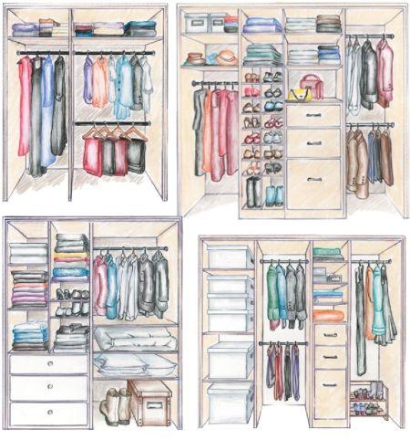 come scegliere l'armadio per il cambio di stagione