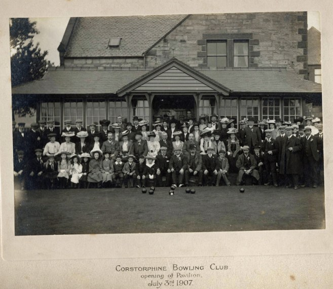 Clubhouse Opening 1907