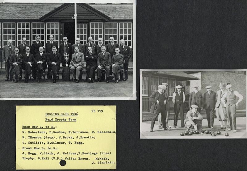 Reid Trophy Team - 1946