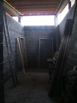 Nearing Completion - Ladies Locker Room