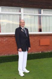 Bob Page – District 15 Senior Singles Winner 2014