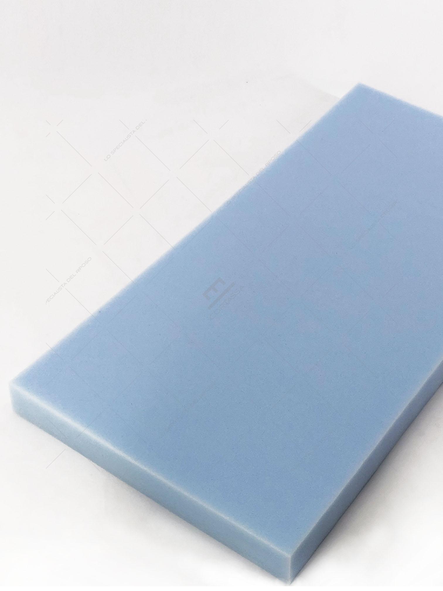 Il prezzo e altri dettagli possono variare in base alle dimensioni e al colore del prodotto. Lastra In Gommapiuma Azzurra 200x100 Densita T35 Cortassa