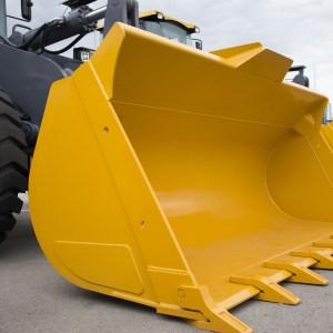 large excavator bucket
