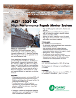 MCI-2039 SC