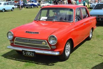 Cortina Mk1 Red 64 4d