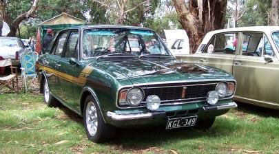 Cortina Mk2 GT Green