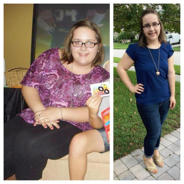 Jamie Weight Loss Transformation