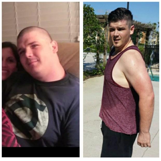 Thomas Weight Loss Transformation