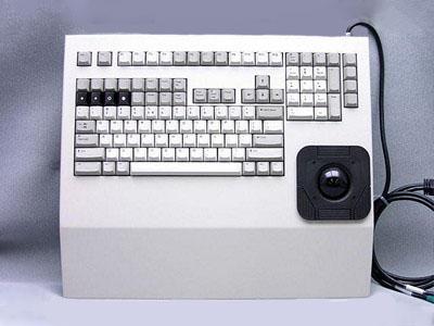 Cortron Model 121 Keyboard T20D  Non-Backlit Rack Mount Enclosure
