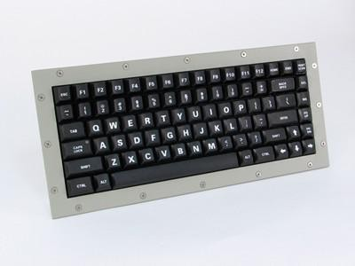 Cortron Model 80 Keyboard No Pointing Dev  Backlit Panel Mount Enclosure Mounting Gasket Accessory