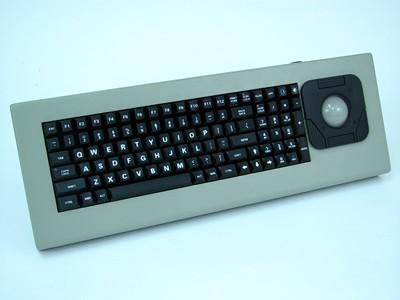 Cortron Model 90 Keyboard T20D  Backlit Table Top Enclosure Angled Keyboard Case