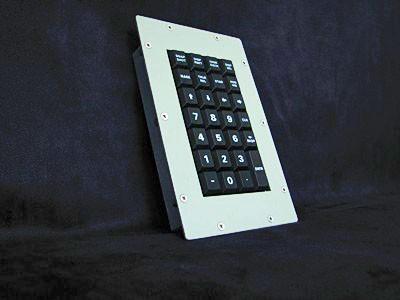 Cortron Model KP27 Keypad No Pointing Dev  Backlit Panel Mount Enclosure