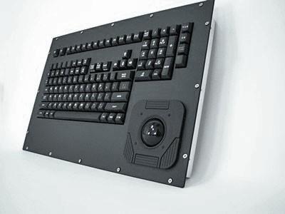 Cortron Model 121 Keyboard T20D  Non-Backlit Panel Mount Enclosure Airborne