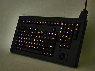 Cortron Model 121 Keyboard T14  Backlit Table Top Enclosure
