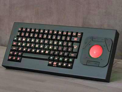 Cortron Model 84 Keyboard T20D  Backlit Table Top Enclosure
