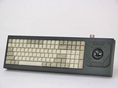 Cortron Model 90 Keyboard T20D  Non-Backlit Table Top Enclosure Light weight.