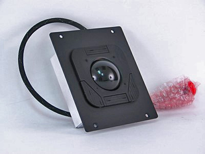 Cortron Model T25D Pointing Device T25D  Backlit Panel Mount Enclosure NVIS Back Lighted.