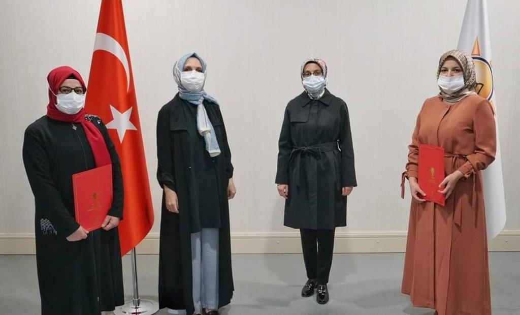 AK Kadınların Bayat ve İskilip Başkanları Belli Oldu