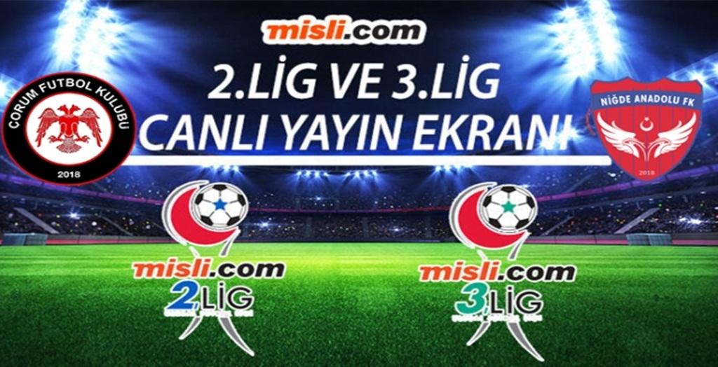 Çorum FK Maçı Canlı Yayınlanacak