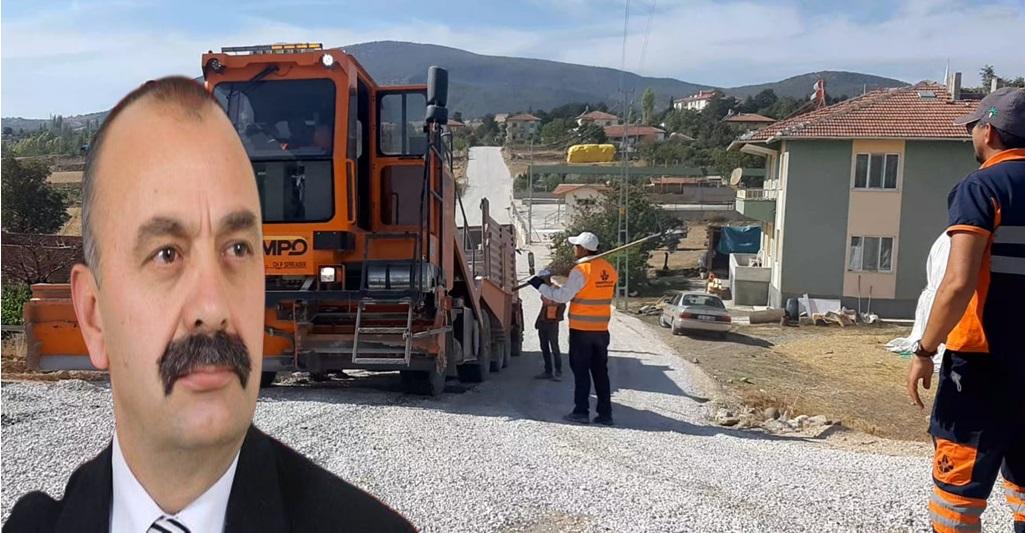 Ortaköy'de Pazar Alanı Bağlantı Yolları Asfaltlandı