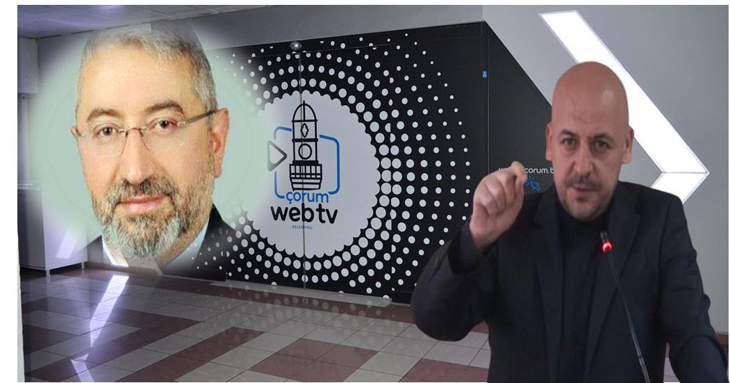 Belediyeye, Web TV Tepkisi!