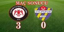 Çorum FK Üst Tura Geçti