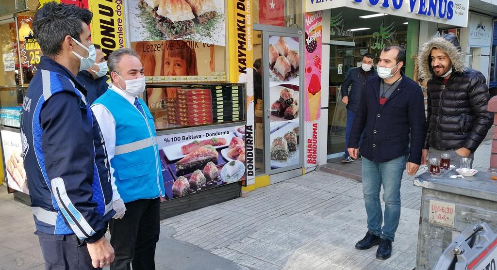 Belediye Sigara Denetimi Yaptı