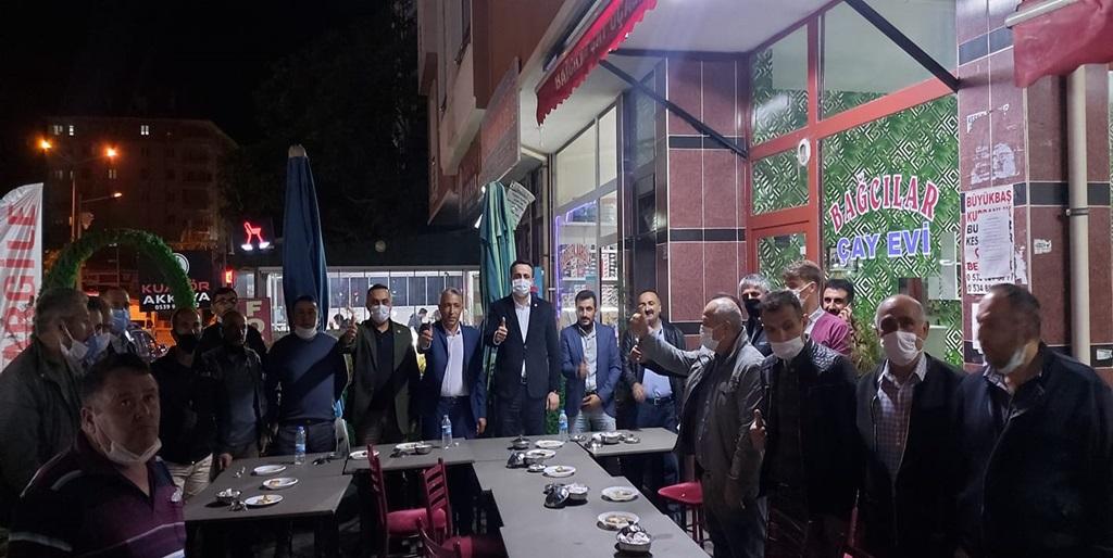 Gülabibey'de Yeniden Refah Partisi'ne Yoğun İlgi