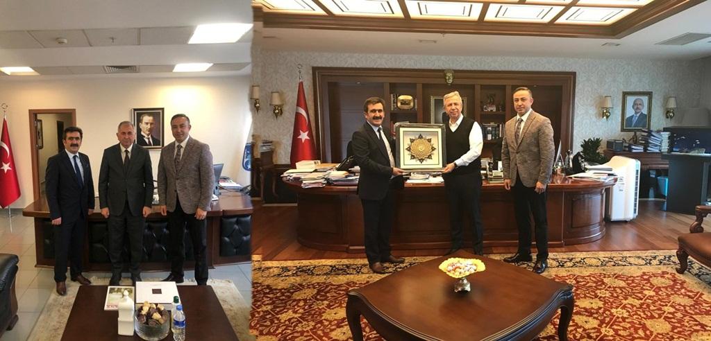 Tahtasız ve Aylar'dan Ankara Ziyareti
