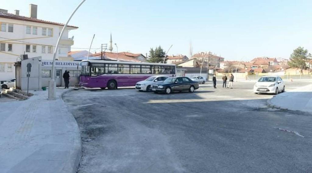 Otobüsler 25 Ocak'ta İtibaren Yeni Durağında