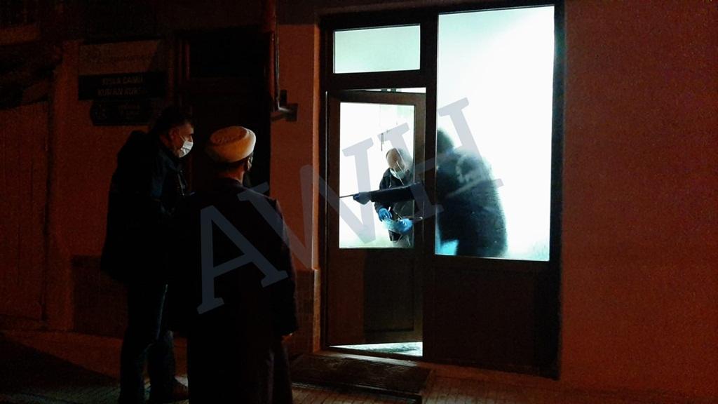 Çorum'da Hırsızlar Camilere Dadandı