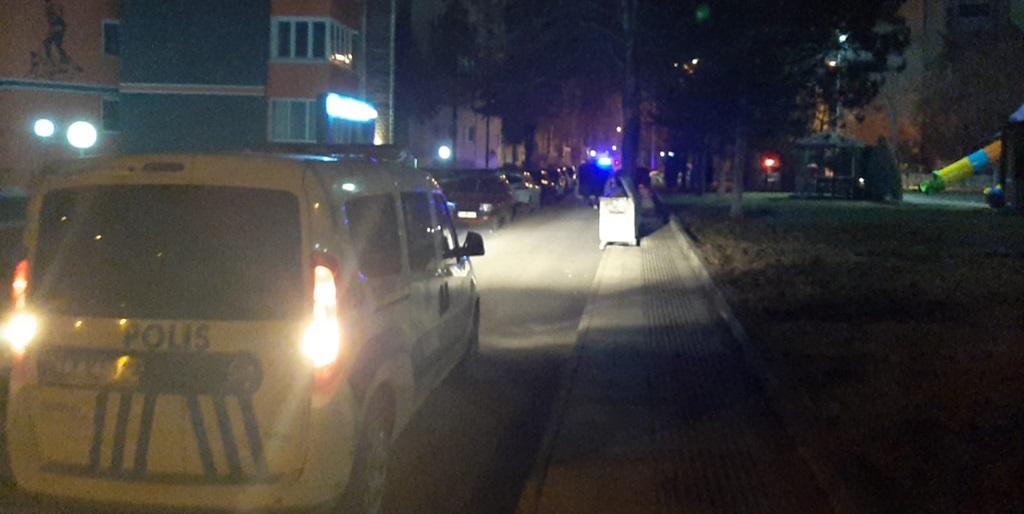 Polisten Kaçarken Kaza Yaptı